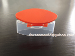 bottle snap top cap 2k mold design