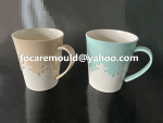 plastic mug double mold