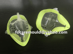 two color gas mask mould