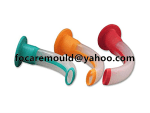 guedel airway two color mold design