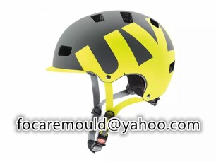 two color safety helmet mold design