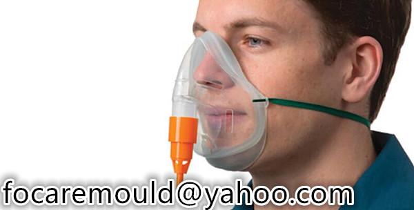 two color venturi mask mold design