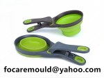 two color dog food spoon