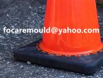 multi shot safety cones PVC