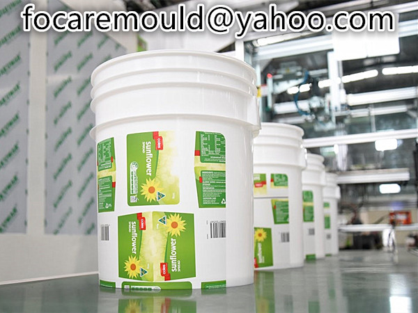 paint barrel in mold labeling