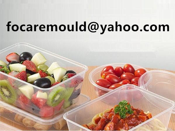 takeaway food tub thin wall mold