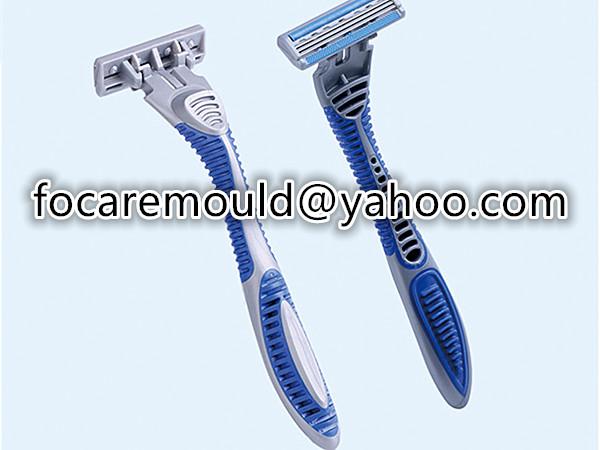 two shot razor handle mold
