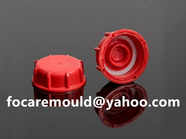 double injection screw cap lubricant mold