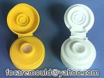 mayo bottle two shot silicon cover mold