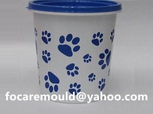 multi shot watering bucket mold
