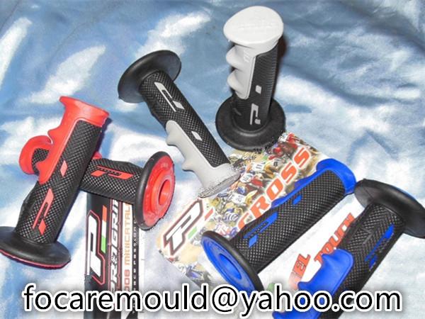 2k handlebar rubber grip mold