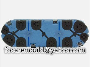 multi shot cable distribution box mold