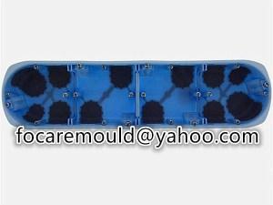 multi shot electrical box mold