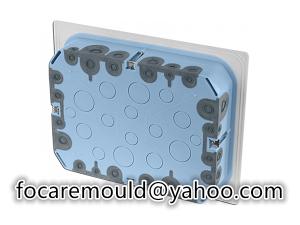 multi shot fastafix box mold