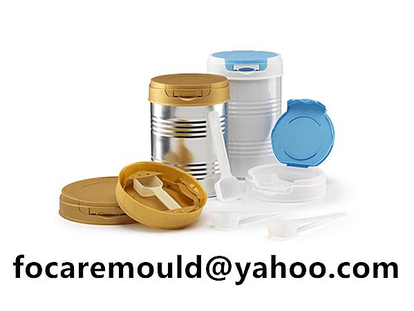 nutrition jars closure mold