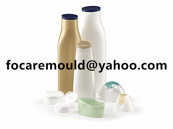 two color mold dispensing closures for personal care