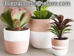 multi shot flower pot mold