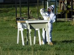 Beekeeper Darcy