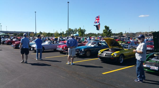 2016 British Car Festival at Harper College In Palatine