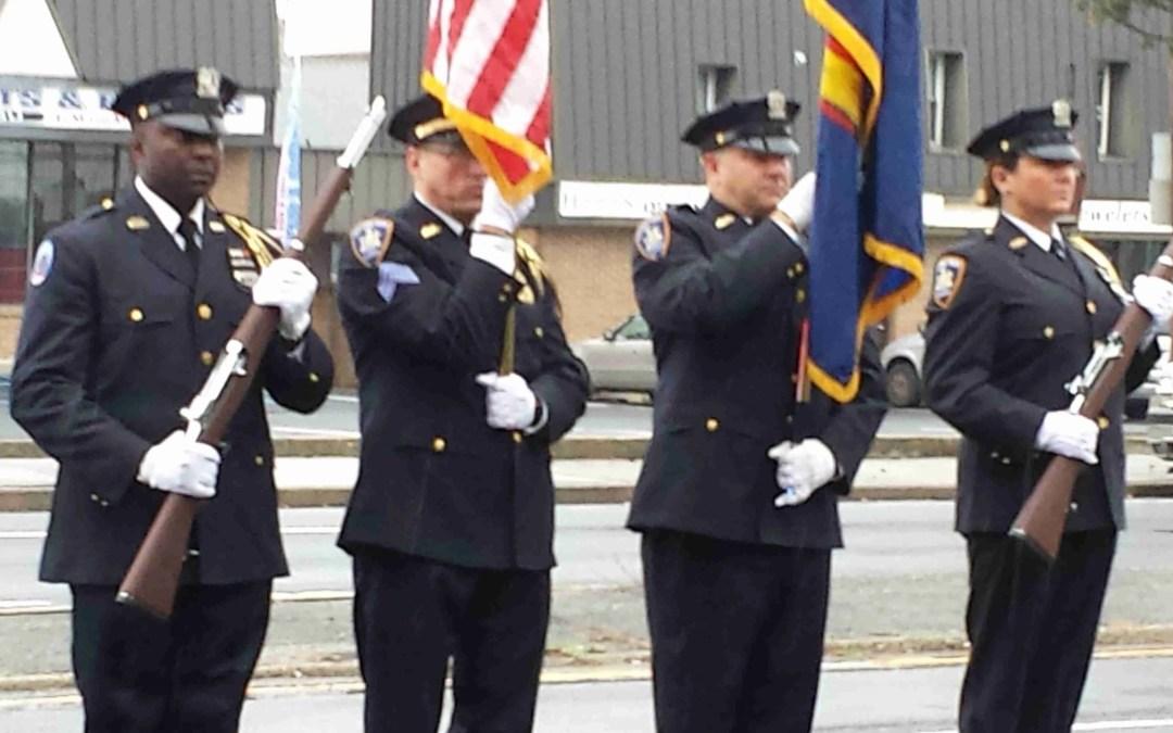 Honor Guard at Major Martin D'Amico's Funeral
