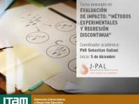 Curso avanzado en Evaluación de Impacto «Métodos experimentales y regresión discontinua»