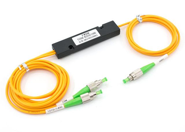 ABS Box Type Filter WDM 1310 / 1490 / 1550 nm, FC/APC Connectors