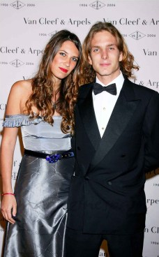 Andrea Casiraghi & Tatiana Santo Domingo