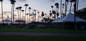 Start Caribbean Sea Jazz Festival Aruba 2018 Venue Market