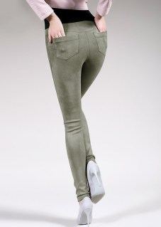 gu_Giulia-Leggy-Fashion-Suede-Feel-Pants-Olive