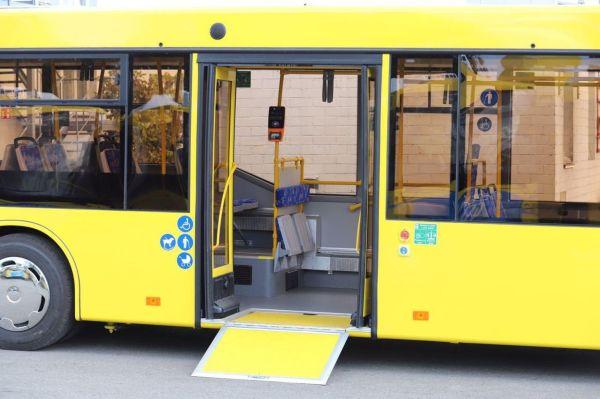 Киев получил 50 новых автобусов от белорусского завода МАЗ ...