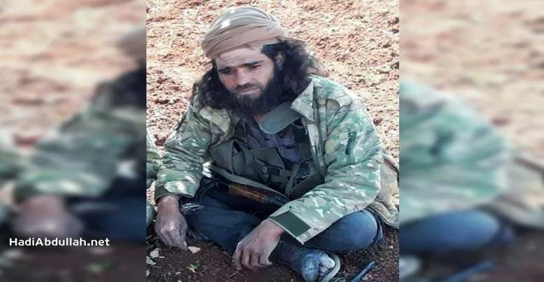 الشهيد الحي صدام الشيخ أحد القادة في جيش العزة -انترنيت