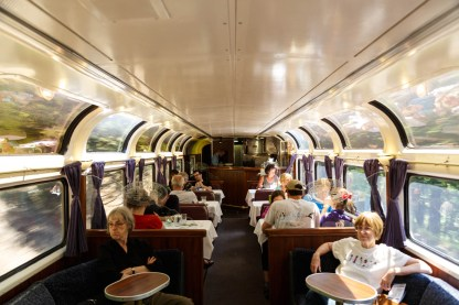 Amtrak Coast Starlight Pacific Parlor Car