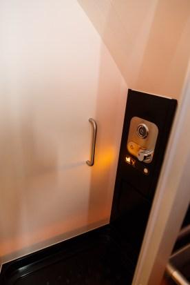 Etihad First Class Apartment Shower