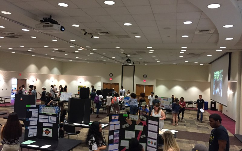 Focused Inquiry Expo, Poster Presentations in the Student Commons, May 5, 2018