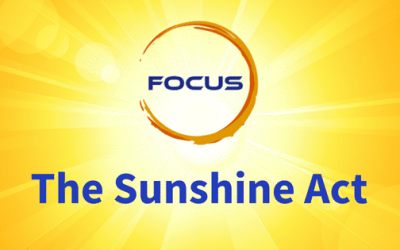 What Is The Sunshine Act? Your Questions; answered.