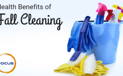 Health Benefits of Fall Cleaning