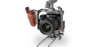 Panasonic Lumix in filmopstelling