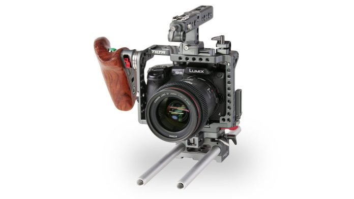 Panasonic Lumix in filmopstelling