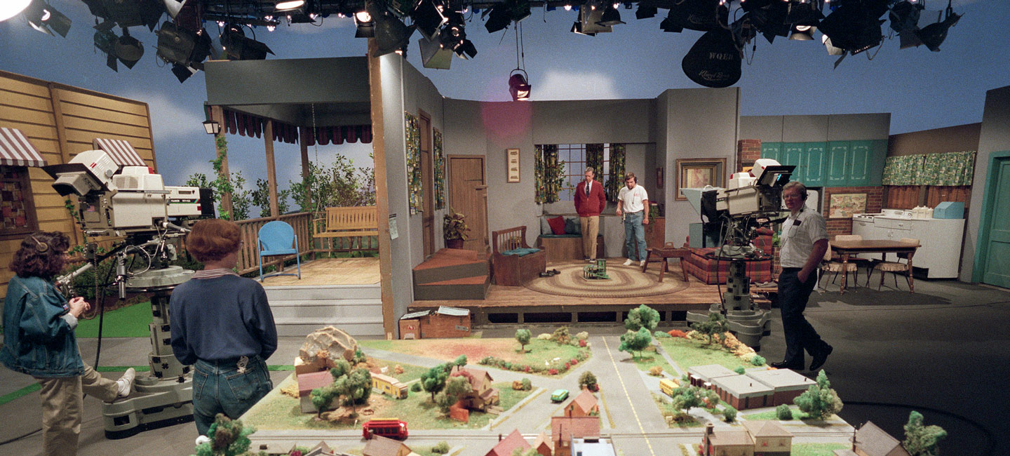 Image result for mister rogers neighborhood set