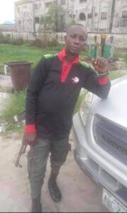 End SARS : Identify of Policeman shot dead in Ughelli Revealed