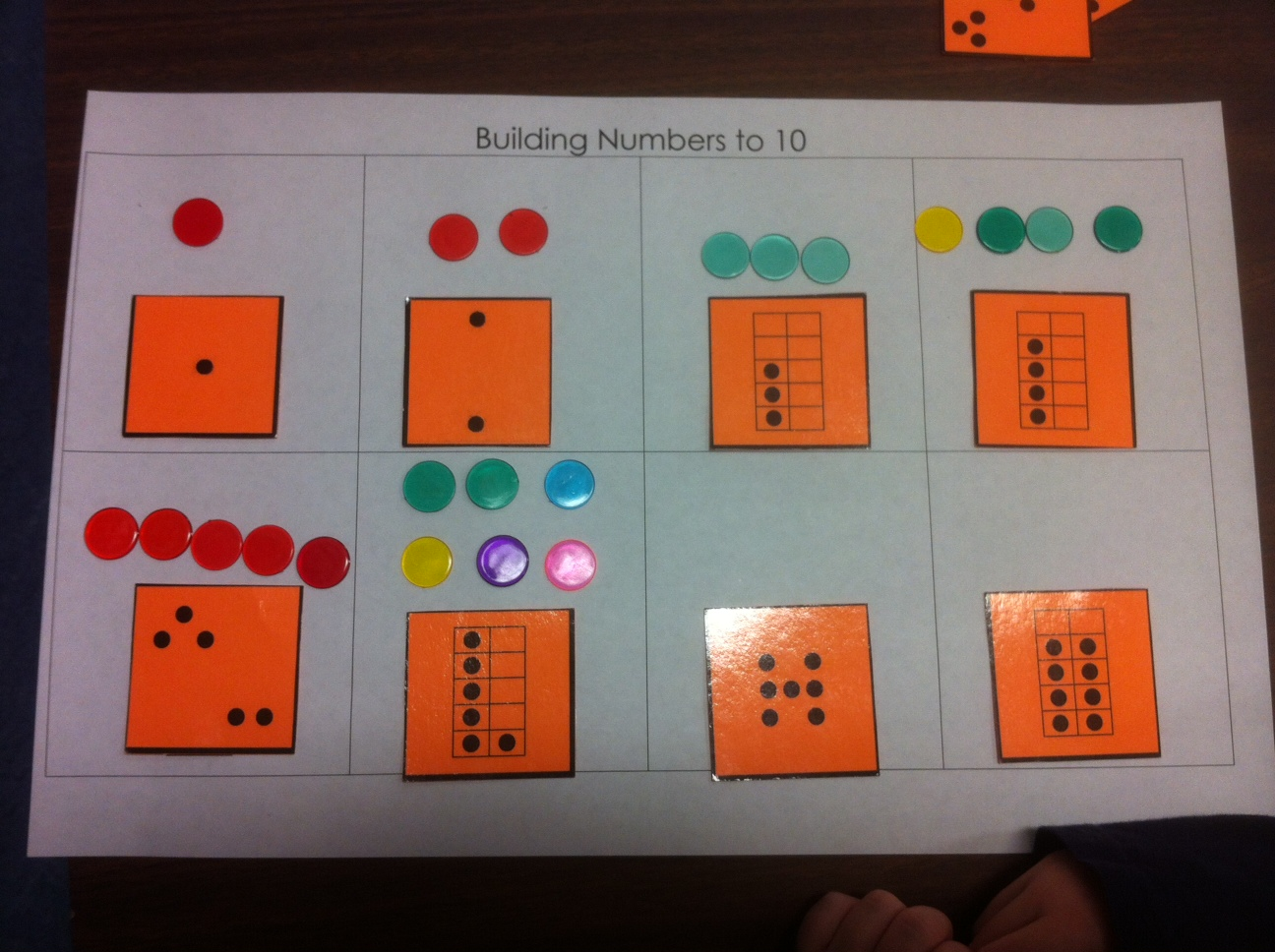 Building Numbers A Kindergarten Or Primary Activity