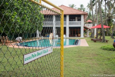 Palm Beach Villa - owned by a Canadian, Wadduwa, Sri Lanka