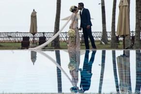 Sri Lankan Wedding Couple.