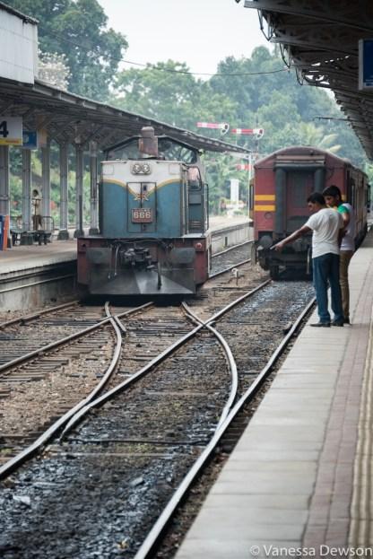 Kandy Train Station, Sri Lanka