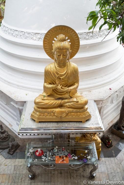 Inside Gangayaramara Temple