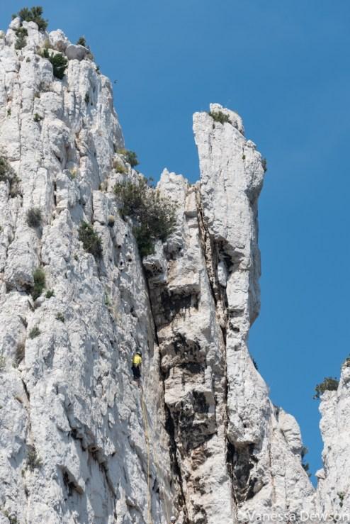 ROck climbers. Photo by: Vanessa Dewson