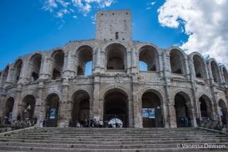 Roman arena in Arles. Photo by: Vanessa Dewson