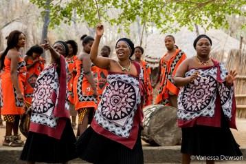 The married women sing