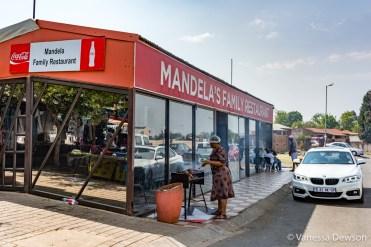 Restaurant across from Mandela's House