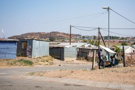 Informal settlement, Soweto